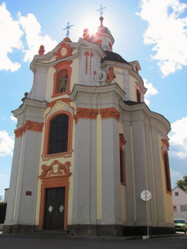Baroque style churches